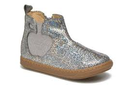 Shoo Fast fast delivery shoo pom bouba apple ankle boots in silver shoes