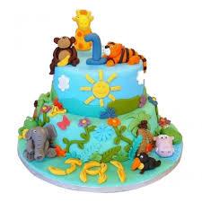 jungle theme cake jungle book theme cake myflowertree