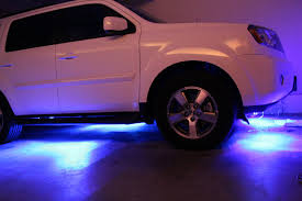 nissan sentra undercarriage plastic cover amazon com led under car glow underbody system neon lights kit 48