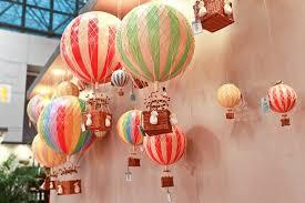 18cm authentic models air balloon set