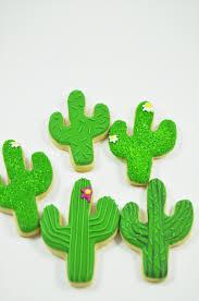 saguaro cactus one dozen wild west sugar cookies and cacti