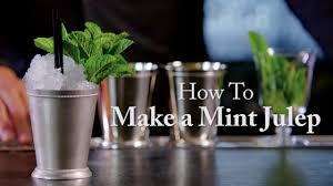 mint julep cocktail masters drinks how to make a mint julep golf com