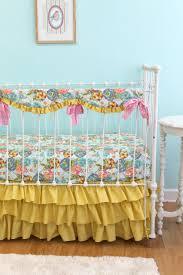 Crib Bedding Pattern Bedding Bumperless Kumari Garden Crib Bedding Lottie Da Baby