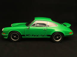 porsche 911 viper green porsche 911 2 7 carrera rs 1973 viper green black stripes 1 18