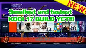 smallest and fastest kodi 17 build yet youtube