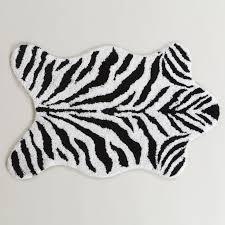 Zebra Print Bathroom Rugs Zebra Shaped Bath Mat World Market Bath Time Pinterest