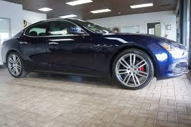 maserati ghibli sedan 2016 maserati ghibli base unlimited performance auto sales