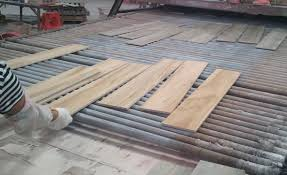 china wood look porcelain tile flooring for sale