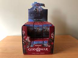 siege gode get a look at kidrobot s god of war vinyl mini figures
