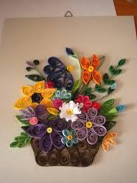 quilled floral arrangement by yoyothemadscientist deviantart com