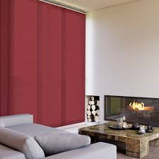 Panel Blinds Sliding Panel Blinds Canvas Blackout Chain Operated