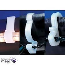 gutter hooks outdoor icicle rope lights