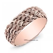 braided wedding bands gold braided wedding band