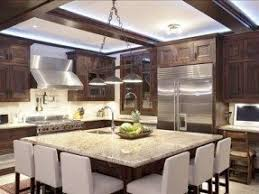 large kitchens with islands granite kitchen island with seating foter