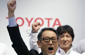 toyota motor group toyota expects record annual profit wsj