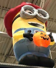 Inflatable Firefighter Christmas Decorations by Halloween Inflatable Minion 3ft Despicable Me Airblown Outdoor