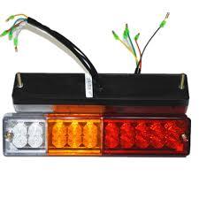 Led Tail Light Bulbs For Trucks by Aliexpress Com Buy 2 X 20 Led Atv Trailer Truck Led Tail Light