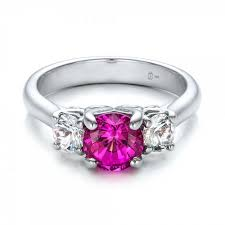 pink wedding rings designer wedding ceremony rings pink wedding rings with