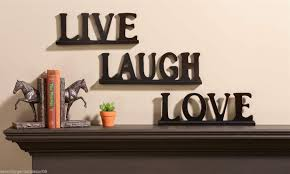 live laugh love wooden wall decor shenra com