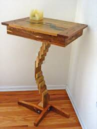 Diy Pallet Wood Distressed Table Computer Desk 101 Pallets by 90 Best Tables Images On Pinterest Home Decorations Chairs And