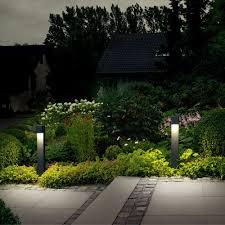Landscape Bollard Lights Bega Led Garden And Pathway Bollard 7237 7238 Idealightings