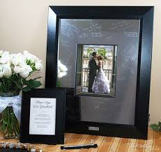 wedding signing frame 262 best guest book alternatives images on guest book