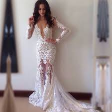 wedding dress with sleeves sheath lace wedding dress bridal gown with court v
