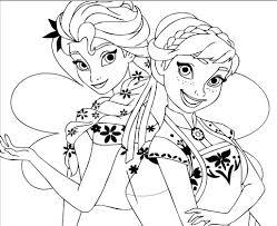 anna coloring frozen games