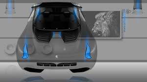 home fantasy design inc peugeot onyx back crystal home fantasy fly car 2014 el tony