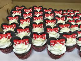 minnie mouse cupcakes cakes by minnie mouse cupcakes and mini cupcakes