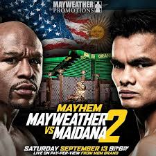Last Poster Wins Ii New - mayweather vs maidana ii official poster for september 13 rematch
