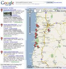 map of oregon lighthouses map of oregon coast printable interactive oregon coast
