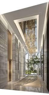 Luxury Lobby Design - 矩阵纵横 海口华润中心城销售中心 售楼处 pinterest staircases