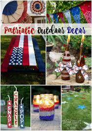 Patriotic Garden Decor Patriotic Outdoor Decor The Scrap Shoppe