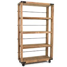 Crate Bookcase Crate Rolling Bookcase Large Home Design Store