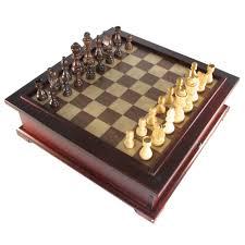 chess backgammon checker combination sets