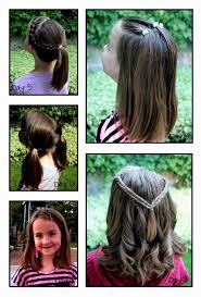 cute 9 year old hairstyles for girls hairstyles ideas