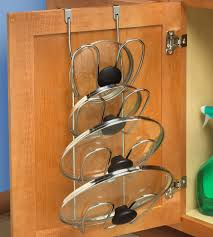 Kitchen Cabinet Door Racks by Pot And Pan Cabinet Organizer Install Kitchen Cabinet Image Of