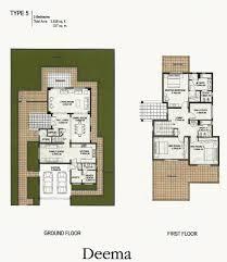 5 room floor plan the lakes dubai floor plans emirates living deema ghadeer