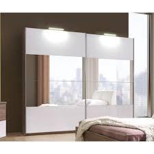 armoire chambre a coucher armoire de chambre a coucher cali avec miroir 2m50 achat vente