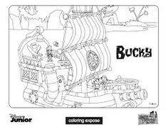 jake land pirates free printable coloring pages