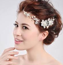 forehead headbands 2018 2017 new headbands high grade pearl diamond headdress