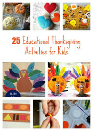 educational thanksgiving activities for preschool and kindergarten