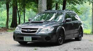 modded subaru outback sleeper status cosworth subaru outback review youtube