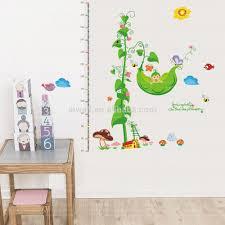 stickers chambre d enfant 845 y de bande dessinée hauteur stickers muraux pour