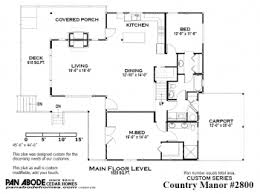 Post And Beam Floor Plans Cedar Home Floor Plan Search Pan Abode Cedar Homes