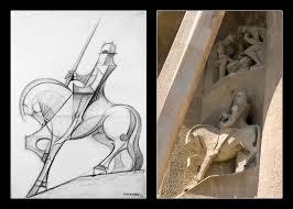 gaudi knight on horseback by mahgnitton on deviantart