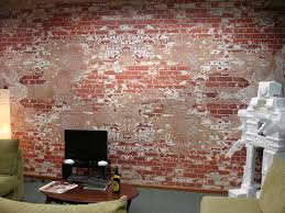 murals speedpro des moines low tac repositionable wall material for office building yes the brick is printed