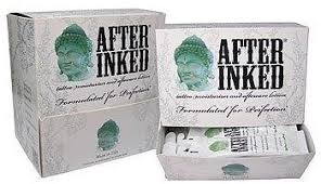 vegan tattoo aftercare cream after inked vegan tattoo aftercare lotion 100 sachets amazon co
