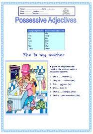 adjectives elementary worksheet ii